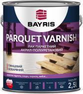 Лак паркетний Parquet Varnish Bayris глянець прозорий 2,5 л