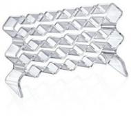 Органайзер BoxUp для помад 12x13,5x16,5 см пластик прозрачный FT-017