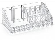 Органайзер BoxUp для косметики Diamond 21,5x12x8 см пластик прозрачный FT-020