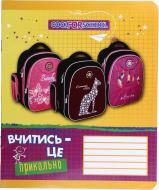 Зошит шкільний 12 аркушів у клітинку CF23027 Cool For School