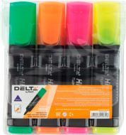 Набір текстових маркерів Axent 1-5 мм 4 шт. D2501-40 різнокольоровий