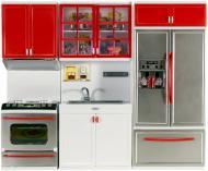 Ігровий набір Qun Feng Toys Сучасна кухня червона 26210