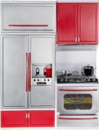 Набір  Сучасна кухня 1 червона 26212