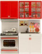 Ігровий набір Qun Feng Toys Сучасна кухня 3 червона 26214