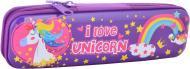 Пенал металевий Unicorn YES фіолетовий