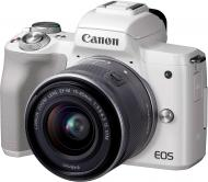Фотокамера Canon EOS M50 + 15-45 IS STM KIT white (2681C057)