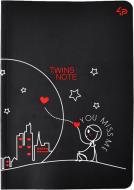Блокнот Twins series miss you А6 40 арк. Profiplan