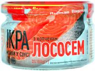 Ікра мойви в соусі з копченим лососем 180г Флагман