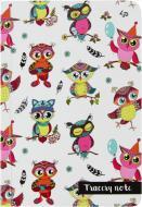 Блокнот Tracery note owls A6 40 арк. Profiplan