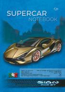 Блокнот Supercar series gold A5 40 арк. Profiplan