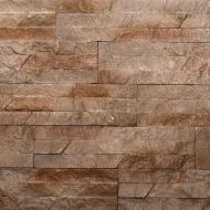 Плитка гіпсова пряма KLVIV DEKOR Dnister Sandstone Wood 0,62 кв.м