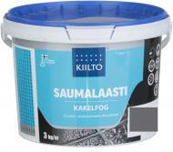 Фуга Kiilto 48 3 кг графітово-сірий
