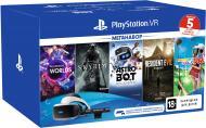 Окуляри віртуальної реальності Sony PlayStation VR MegaPack 5 ігор у комплекті (9998600)