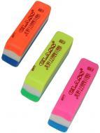 Гумка для олівців 4977 триколірна CLASS