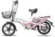 Електровелосипед Aurora A016 Pink 48V350W