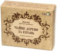 Мило органічне Cocos Чайне дерево та герань 100 г 1 шт./уп.