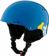 Гірськолижний шолом TECNOPRO Snowfoxy SK587 253521 253521 р. M блакитний із жовтим