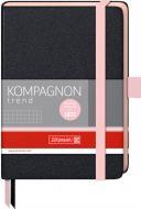 Книга записна Компаньйон А6 клітина рожевий зріз Brunnen