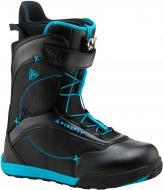 Черевики для сноуборда Firefly A50 SL р. 29 270400 чорний із блакитним