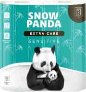 Туалетний папір Сніжна Панда EXTRA CARE Sensitive тришаровий 4 шт.