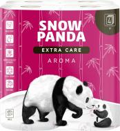 Туалетний папір Сніжна Панда EXTRA CARE Aroma чотиришаровий 8 шт.