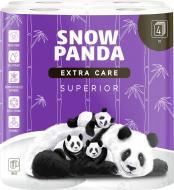 Туалетний папір Сніжна Панда EXTRA CARE Superior чотиришаровий 8 шт.