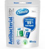 Влажные салфетки Smile 2 в 1 Саше 30 шт.