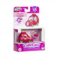 Машинка Shopkins Cutie Cars S3 Вишневий Вен (з міні-шопкінсом)