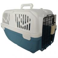 Переноска AnimAll для котов и собак 52х35х33 см, синяя