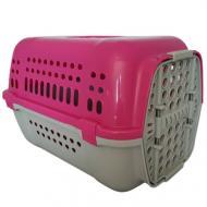 Переноска Animall Р 990 для кошек и собак 49х35х32,5 см Розовая