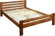 Кровать Ласточка двухспальная 140x200 см орех светлый