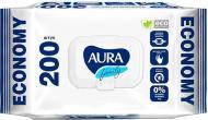 Вологі серветки Aura Family 200 шт.