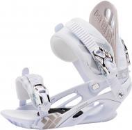 Крепеж для сноуборда р. S бело-серебристый Firefly 226849