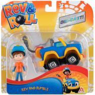 Игровой набор Rev&Roll Die Cast Rev & Rumble
