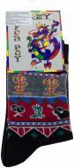 Шкарпетки Charmante р. 23-26 чорний із малюнком 1275 SNK