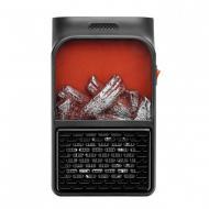 Портативный электрообогреватель КЕА Flame Heater с пультом 500 Вт Черный