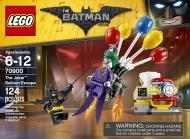 Конструктор LEGO Batman Movie Втеча Джокера на повітряних кульках 70900