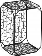 Подставка декоративная графит Прямоугольник №15 C 300x300x450мм TRID HOUSE