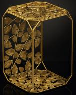 Подставка декоративная золото Прямоугольник №16 B 300x300x450мм TRID HOUSE