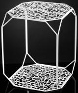 Подставка декоративная белая Прямоугольник №10 А 350x350x450мм TRID HOUSE