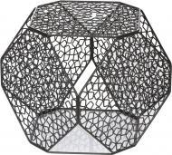 Стіл журнальний Многогранник №6 А графит 400x400x400мм TRID HOUSE