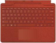 Клавіатура Microsoft Surface Pro X Signature Pen Bundle Poppy (25O-00027) red