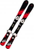 Лыжи TECNOPRO XR Team 227472 + TC45 J75 224579 100 см черный с красным