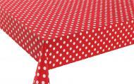 Клейонка на стіл Горошок 140х50х0,17 мм