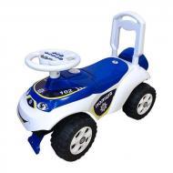 Машинка Doloni Toys бело-синяя 0141/11