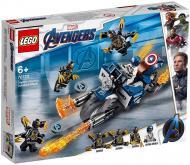 Конструктор LEGO DC Comics Super Heroes Капітан Америка: напад вершників 76123