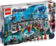Конструктор LEGO Super Heroes Зал з костюмами Залізної Людини 76125 76125