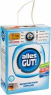 Пральний порошок для машинного та ручного прання Alles GUT! з активним киснем 3 кг