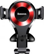 Тримач для телефона BASEUS Osculum Black+red (SUYL-XP09) чорний із червоним
