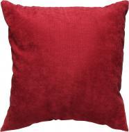 Подушка декоративна Вино 45x45 см червоний